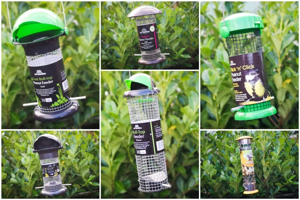 bird feeders collection